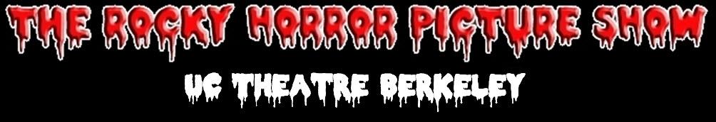 Rocky Horror Picture Show UC Theatre Berkeley Header