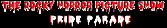 Rocky Horror Picture Show Pride Parade Logo