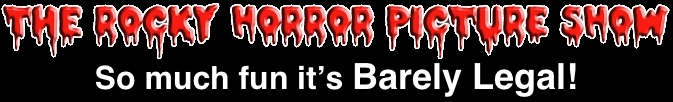Rocky Horror Picture Show Home Logo