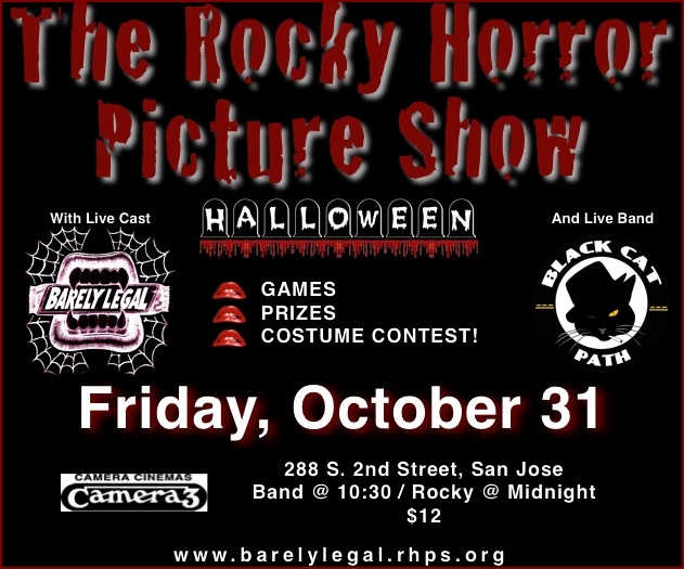 Rocky Horror Halloween Show in San Jose, CA
